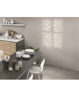 Carrelage realscale gloss gris brillant 30.7x30.7cm
