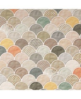 Carrelage realscale gloss patchwork brillant 30.7x30.7cm