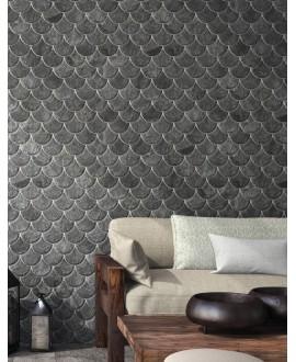 Carrelage realscale slate black 30.7x30.7cm