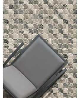 Carrelage realscale stone steel mat 30.7x30.7cm
