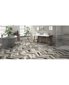 realdpallet gris gauche et droit au sol et teiki gris au mur