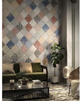 Carrelage arabesque provençal realriga patchwork 45x45cm