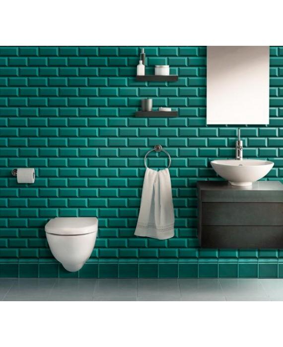carrelage m tro d craquel vert turquoise. Black Bedroom Furniture Sets. Home Design Ideas
