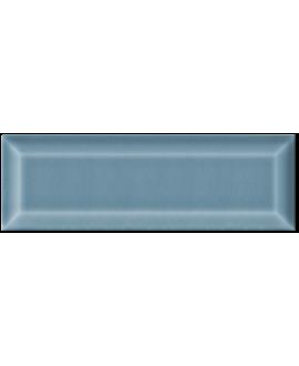 Carrelage métro D craquelé bleu jeans 7.5x22cm