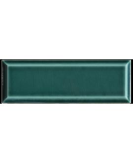 Carrelage métro D craquelé vert turquoise 7.5x22cm