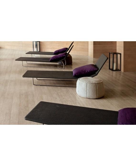 Carrelage imitation parquet contemporain, pool house 20x120cm rectifié,  santanature gris