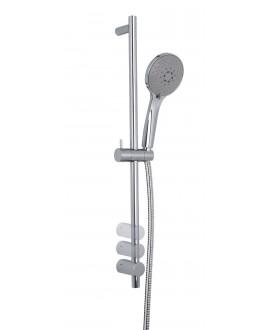 Barre de douche en laiton F2444CR chromé hauteur réglable