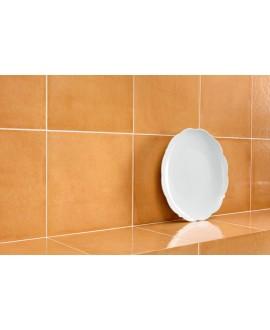 Carrelage santavita orange brillant 20x20 cm rectifié