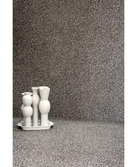 Carrelage effet terrazzo et granito 90x90cm rectifié, santanewdeco dark mat