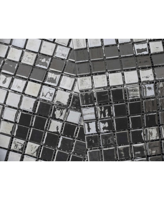 emaux de verre métalico platino 2.5x2.5 cm
