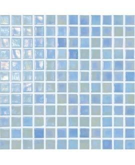 emaux de verre piscine mosaique salle de bain iridis 23 2.5x2.5 cm