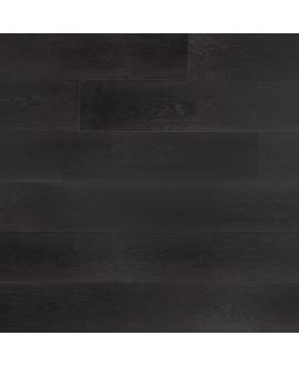 parquet contrecollé en chene huilé , largeur 190 mm , labergamo black