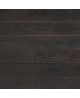 Parquet contrecollé en chêne huilé,  largeur 220 mm lacarcassonne black