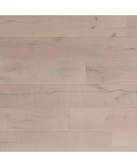 Parquet contrecollé en chêne huilé, largeur 220 mm lacarcassonne blanco