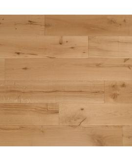 Parquet contrecollé en chêne huilé,  largeur 220 mm lacarcassonne natural