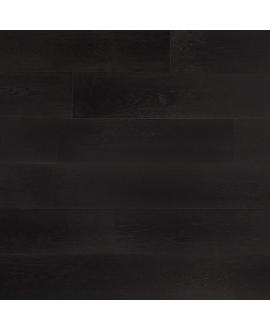 Parquet contrecollé en chêne verni , largeur 190 mm , laclusone black