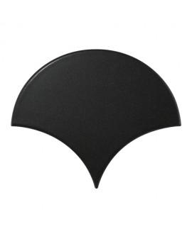 Faience écaille équipfan noir mat 10.6x12cm