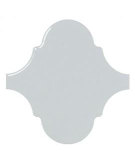 Faience arabesque equipalhambra bleu ciel brillant 12x12cm