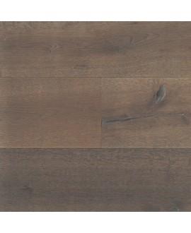 parquet contrecollé en chêne huilé , largeur 190 mm latry smoked coffee