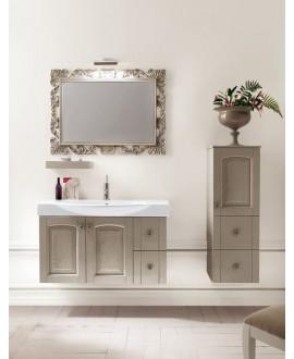 Ensemble de salle de bains AC21 avec un meuble, un miroir et une console