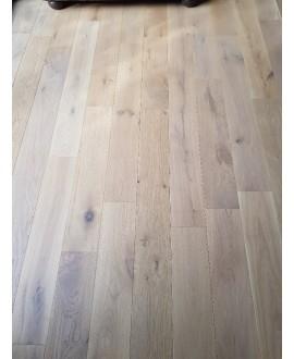 Parquet chêne massif huilé grande largeur, plancher largeur 150 mm, vienna XL aspect bois brut