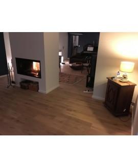 Parquet chêne clair massif huilé, grande largeur, plancher bois largeur 150 mm, vienna XL natural oil