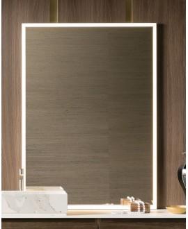 Miroir C enter 100x140x3cm avec led frontal 4 cotés