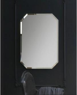 Miroir salle de bain, moderne, hexagonal, vertical 75x105x3cm sans éclairage, comp polygon1 4040