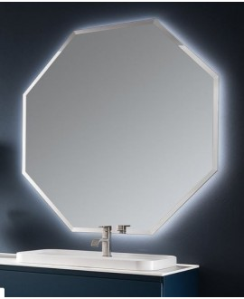 Miroir C polygon3 120x120x3cm sans éclairage