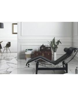 Carrelage imitation marbre émaillé brillant 60.8x60.8cm, géotrevi