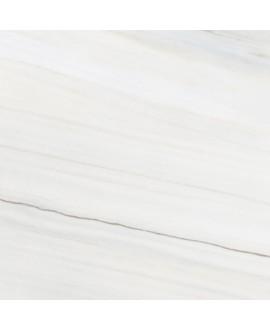 Carrelage imitation marbre rectifié poli brillant grand format, géolasa blanc