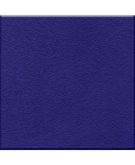 Carrelage antidérapant bleu cobalt sol de douche salle de bain  20x20cm 10x10cm 5x5cm sur trame R10 VO RF cobalto
