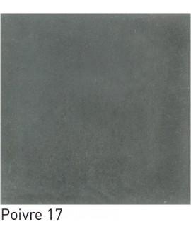 Carrelage ciment uni poivre 20x20cm