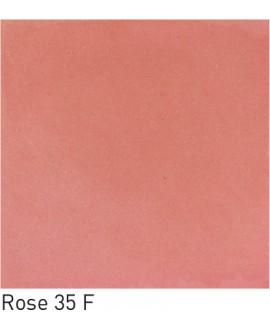 Carrelage ciment uni rose 20x20cm