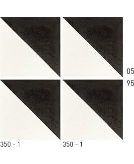 Carrelage ciment décor géométrique 350-1 20x20cm