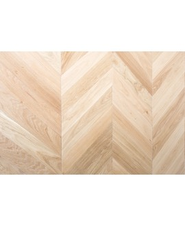 Parquet chêne massif point de hongrie, brossé aspect bois brut huilé, premier choix , ép : 10mm , largeur 70mm