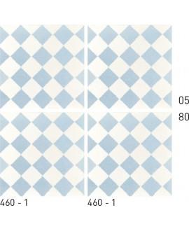 Carrelage ciment décor géométrique 460-1 20x20cm