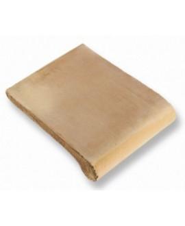Nez de marche en terre cuite fait main Romano 30x34x2cm