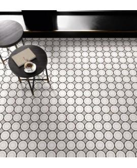 carrelage patchwork 05 black and white 20x20 cm rectifié
