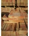 Brique en terre cuite fait main 12x25x3.5cm