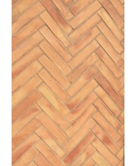 Plinthe en terre cuite fait main 30x7x1cm