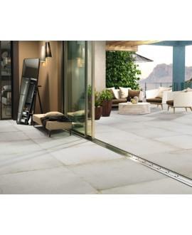 Carrelage terrasse, imitation béton ou résine mat, anti-dérapant XXL 100x100cm rectifié R11 A+B+C, porce1903 nacar