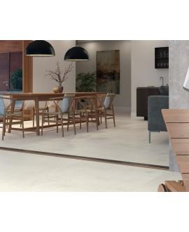 Carrelage sol intérieur, nacre mat XXL imitation pierre 100x100cm rectifié, porce1807 nacar