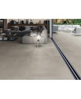 Carrelage terrasse, imitation béton ou résine anti-dérapant XXL 100x100cm rectifié, R12 A+B+C, porce1900 gris