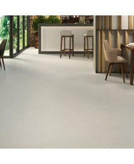 Carrelage sol intérieur, imitation béton ou résine gris clair mat XXL 100x100cm rectifié, Porce1813 perla