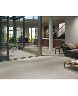 Carrelage imitation pierre mat anti-dérapant, terrasse piscine 100x100cm rectifié, R11 A+B+C, porce1913 gris