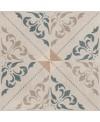 Carrelage cuisine patchwork 02 classic imitation carreau ciment ancien 20x20 cm rectifié dans la cuisine, R10