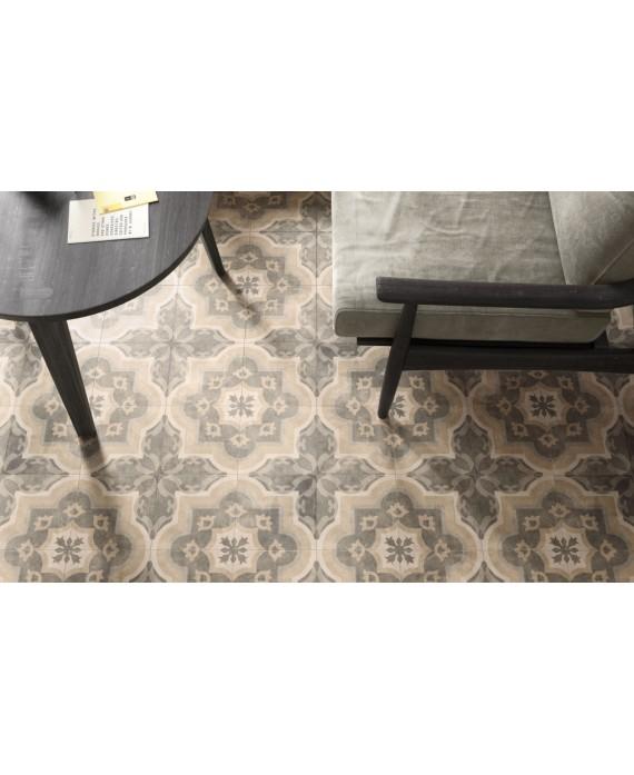 carrelage patchwork 03 classic effet carreau ciment 20x20 cm rectifié