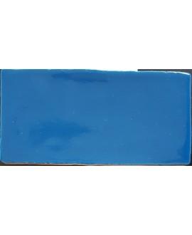 Carrelage DT handmade bleu indigo 7.5x15cm