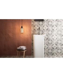 carrelage patchwork 05 classic effet carreau ciment 20x20 cm rectifié au sol et au mur